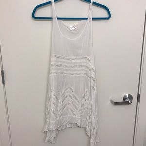 Free People Intimately White Dress, TunicTop Small